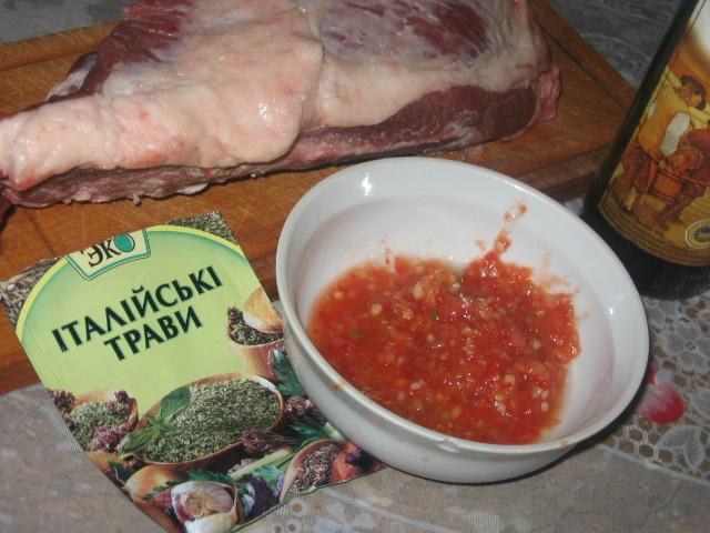 Как приготовить маринад для свиной грудинки