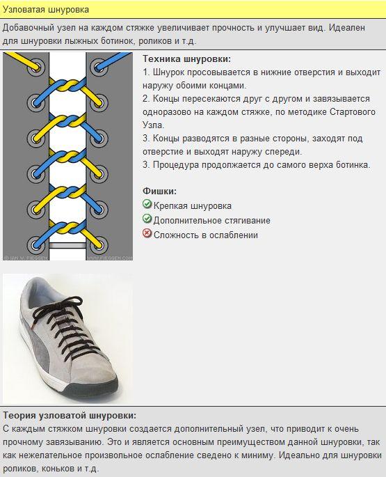 Мастер-класс по художественному завязыванию шнурков:) 47151