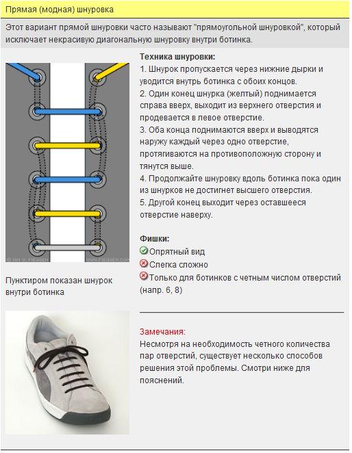 Мастер-класс по художественному завязыванию шнурков:) 99955