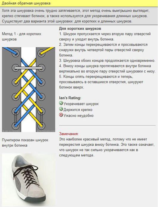 Мастер-класс по художественному завязыванию шнурков:) 71045