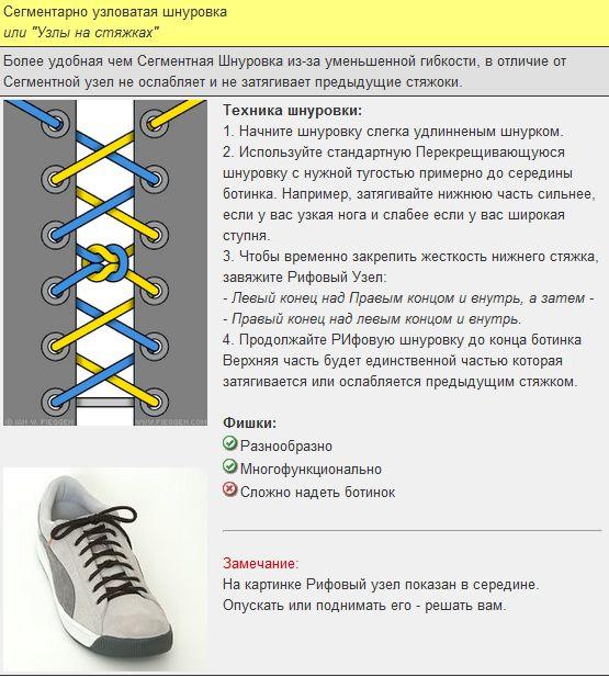 Мастер-класс по художественному завязыванию шнурков:) 72123
