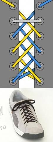 Мастер-класс по художественному завязыванию шнурков:) 66645