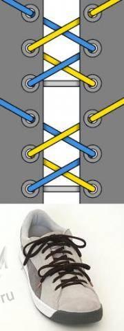 Мастер-класс по художественному завязыванию шнурков:) 72099