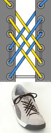 Мастер-класс по художественному завязыванию шнурков:) 90606