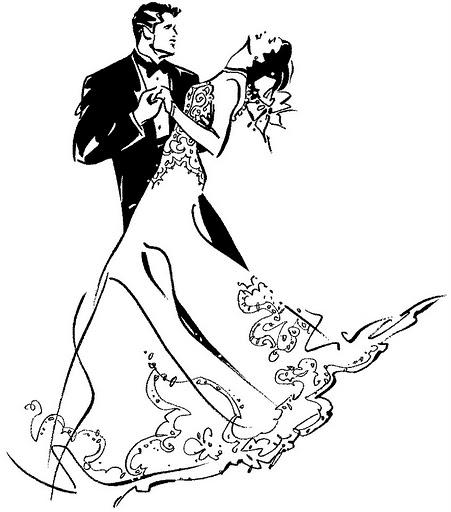 """Оригинал схемы вышивки  """"танец """" ."""