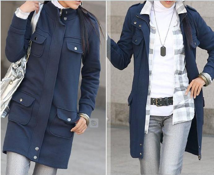 Необычное кэжуал пальто.