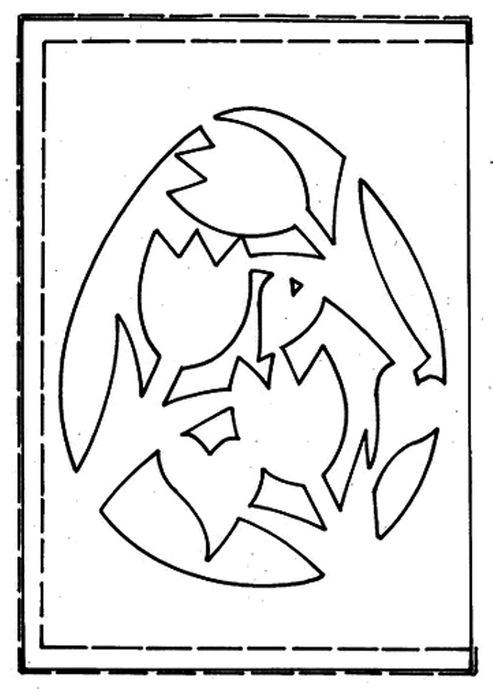Шаблоны и схемы простых вытынанок