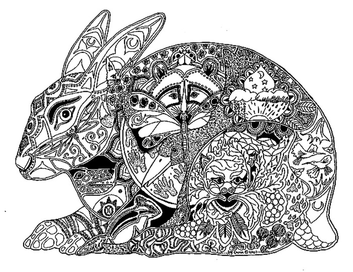 Hare (2) (700x539, 177Kb)