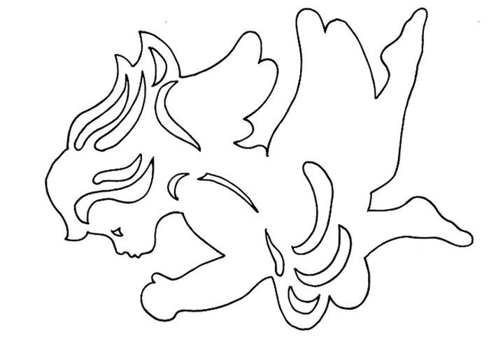 Nye Juleklip i karton - Claus Johansen (46) (700x485, 45Kb)
