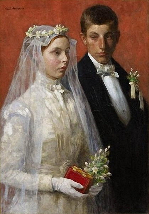 Gari_Melchers_Marriage1 (490x700, 230Kb)