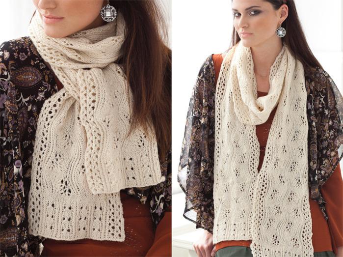 34 lace scarf (700x523, 165Kb)