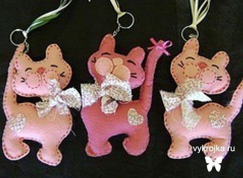 Мягкие игрушки кот своими руками выкройки