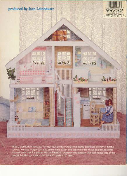Уютный кукольный домик для