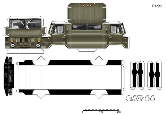 модели советской военной