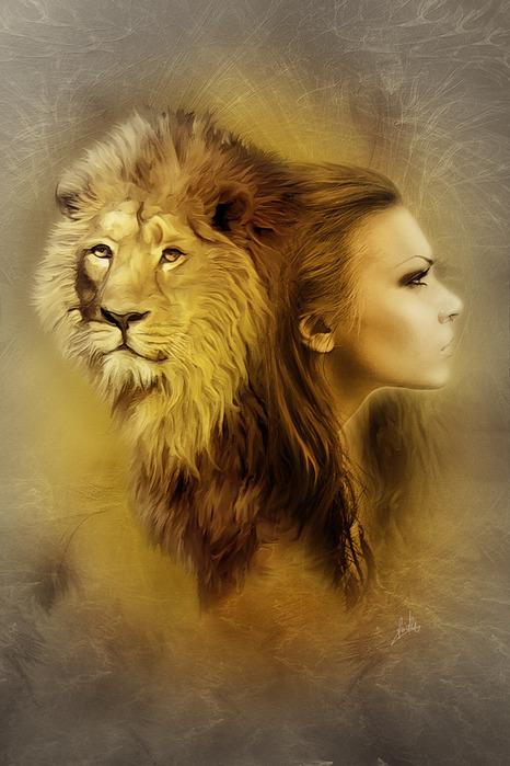 Горда...не падка...неподступна.  Достойна миссии своей.  Царица-львица НЕДОСТУПНА.  Как недоступен Царь зверей.