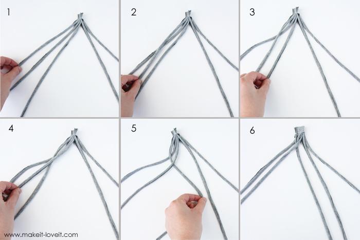 Переделать сланцы и сплести из ткани завязку в технике макраме. .  Два мастер класса.  Прочитать целикомВ.