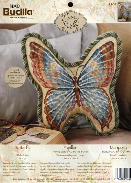 Bucilla 4907 Butterfly (499x700, 154Kb)