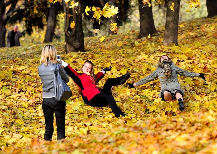 Обои девушки, осень, девушки, осень обои, обои для рабочего стола, скачать обои, обои бесплатно - Страница 4