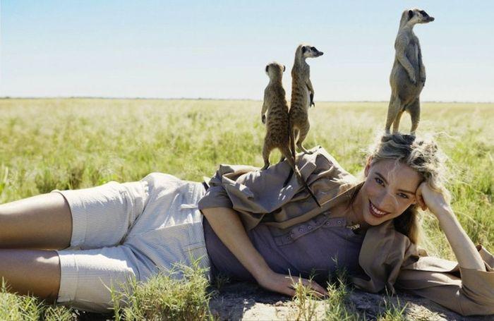 Смешные фотографии женщины: покой нам только снится!