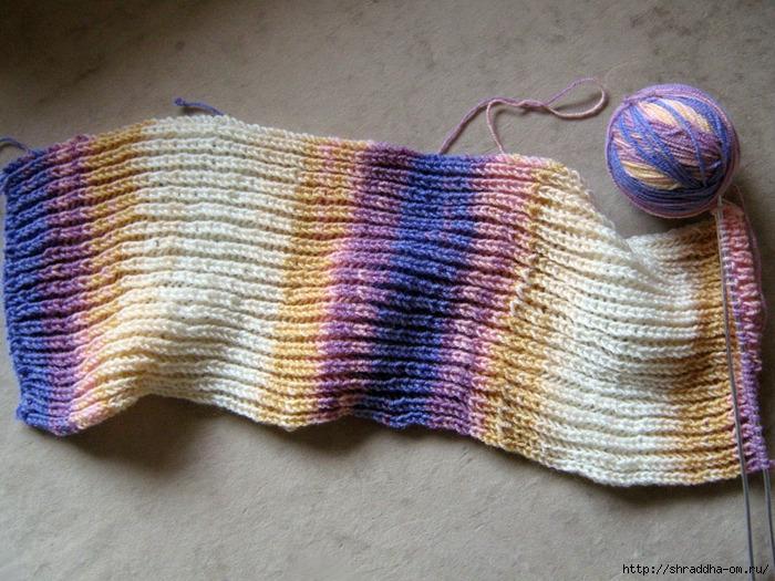 шарф, вязание (700x525, 334Kb)
