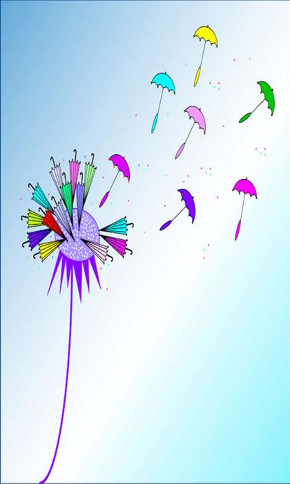 1481368_Umbrella_Dandelion (420x700, 92Kb)