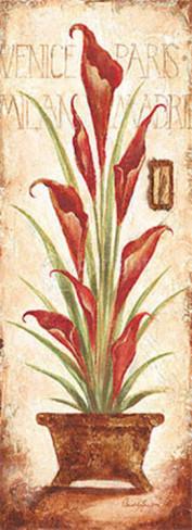 """Схема вышивки  """"Цветок в горшке """": таблица цветов."""