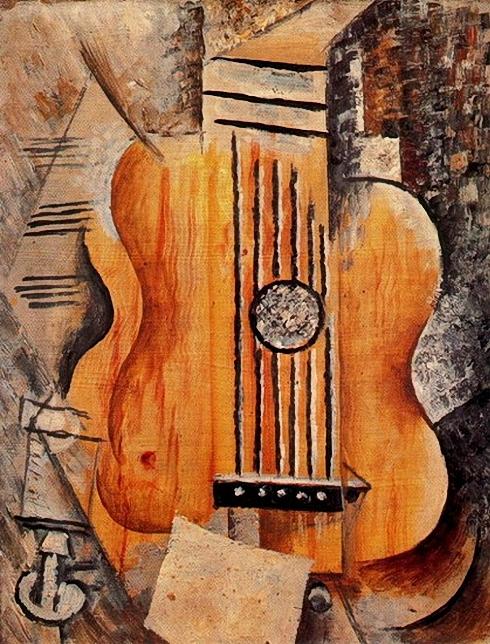 Марсель Умбер-Не существует ни одного портрета Марсель кисти Пикассо, поскольку они познакомились в разгар его увлечения кубизмом. Он говорил Я люблю Ив. Это - кубизм (490x644, 346Kb)