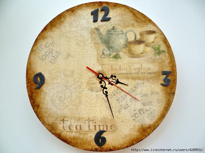 часы Время чая (700x525, 243Kb)