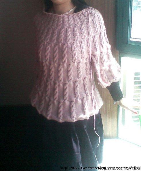 Вязание спицами туники схемы бесплатно, вязание кофта для мальчика.