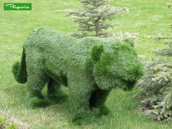 Как сделать фигуры из травы своими руками