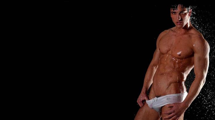 красивые голие парни с членом фотообои