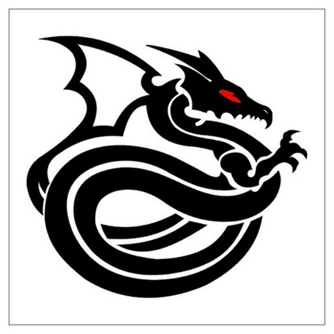 картинки драконов для срисовки тату