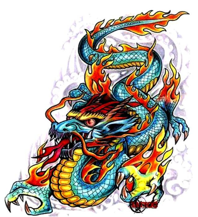 схемы вышивки драконов - Лучшие схемы и описания для всех.