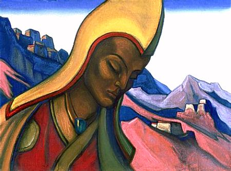Молодой лама. 1945 (450x335, 33Kb)