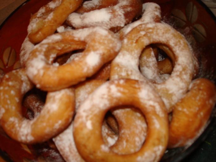 Рецепты пончиков колечек с фото