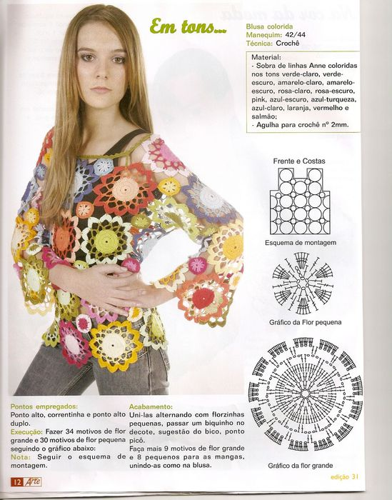 Blusa floral colorida (549x700, 87Kb)