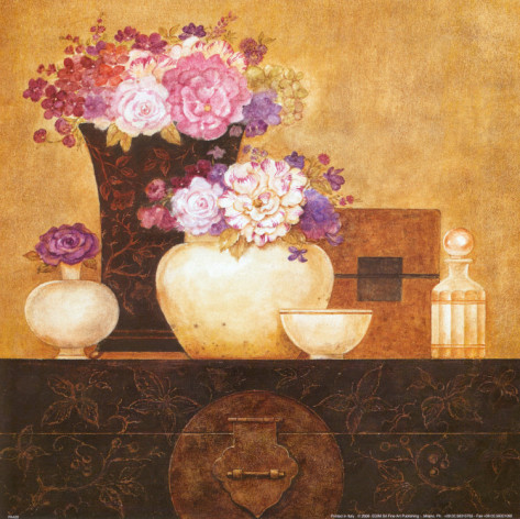 eric-barjot-still-life-flowers-on-antique-chest-ii (473x472, 91Kb)