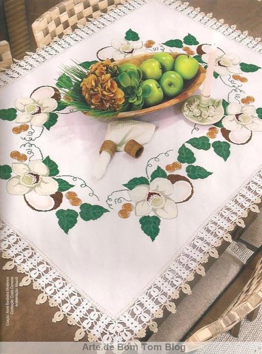 toalha de mesa doce de coco em ponto cruz (516x700, 121Kb)