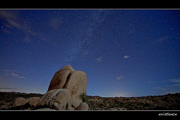 Галактика млечный путь на профессиональных фотографиях разных авторов