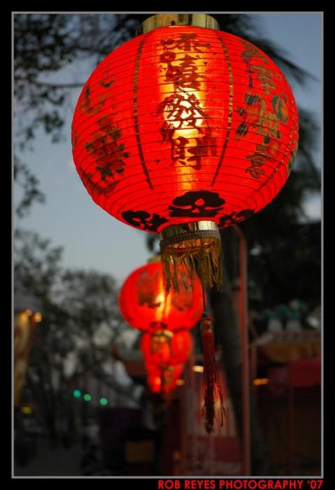 Красный фонарик японский своими руками