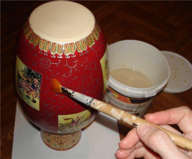 Китайские вазы своими руками