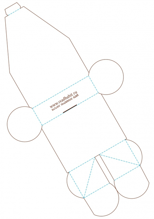 Бонбоньерка своими руками шаблоны