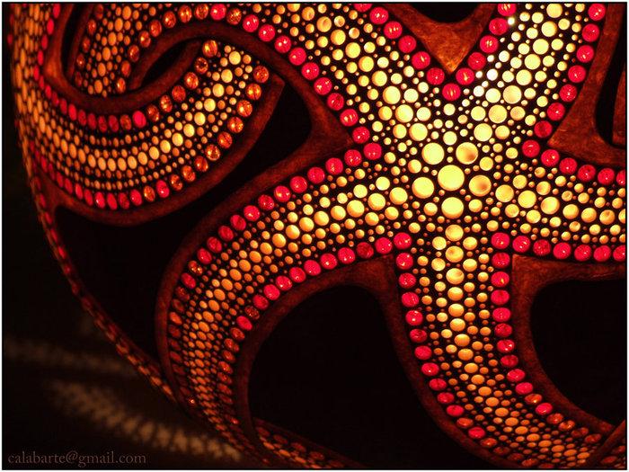 """Экзотические светильники из тыквы от Calabarte """" uCrazy.ru - Источник Хорошего Настроения"""