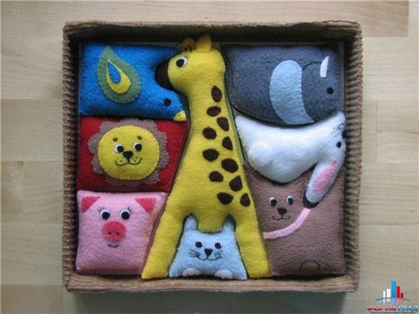Картины из мягких игрушек своими руками