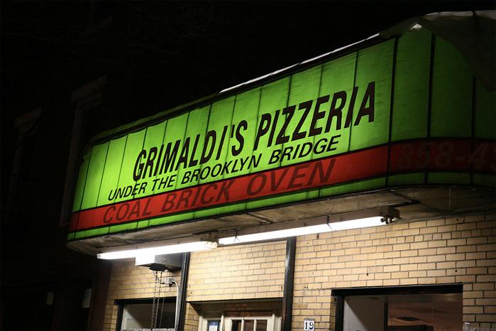 Пиццерия очень популярна и среди жителей города