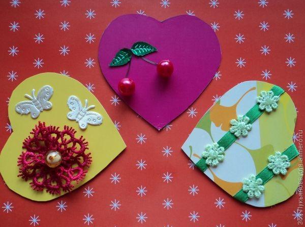 Поделки на день валентина своими руками из бумаги