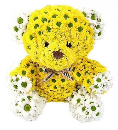 Игрушки-зверушки из живых цветов!