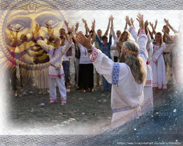 Злые и добрые духи но языческие представления не исчерпывались лишь главными богами