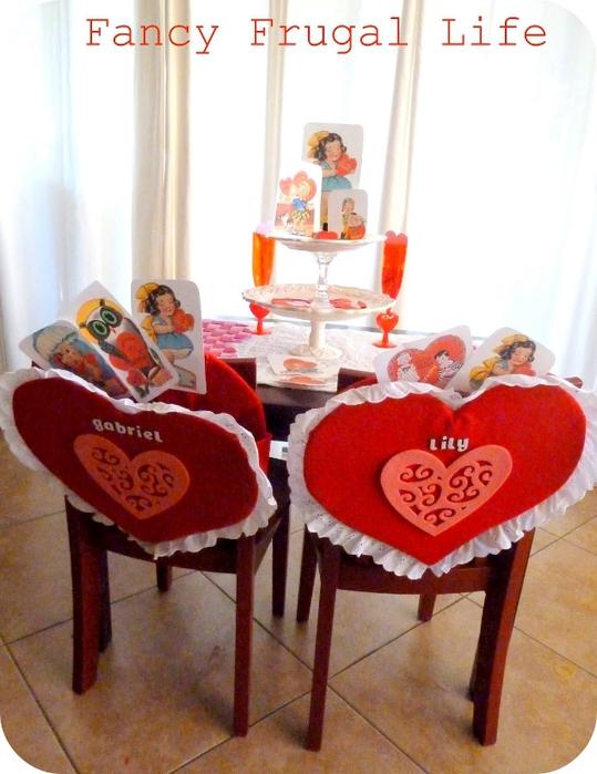 декор дома ко дню св. Валентина