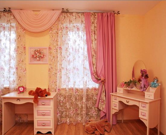 шторы для детской спальни (550x450, 77Kb)